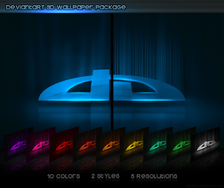 deviantART 3D Wallpaper Pack
